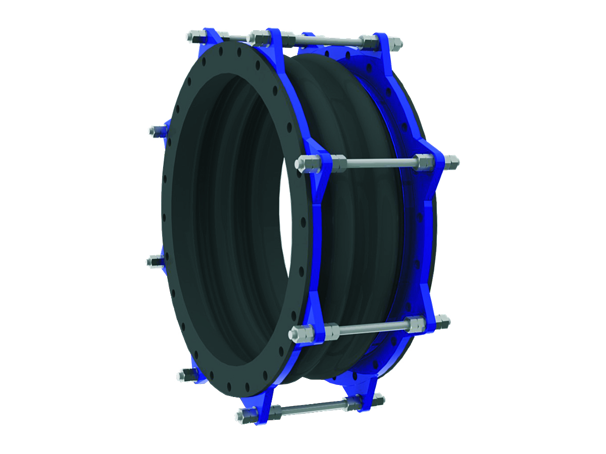 Rubber expansion joint