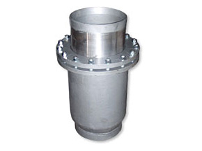 Steel expansion joint