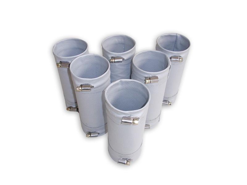 Kompenzátory tkaninové typ 11 až 200°C hadicovými sponami
