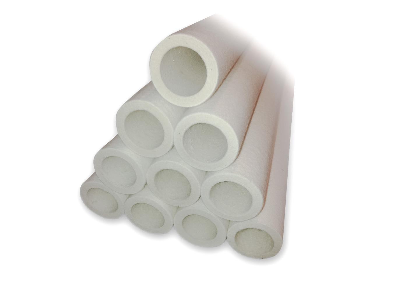 Felt tubes