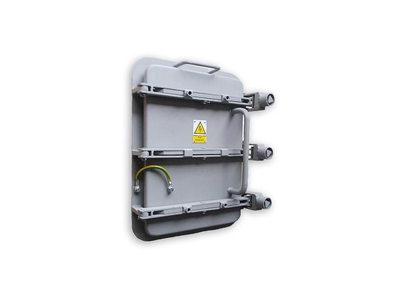 Elektrofiltr - Właz do komory